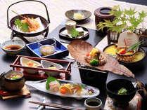 *(料理一例)◆こだわりの地産地消◆ 讃岐地鶏の朴葉焼き会席<プラン専用>