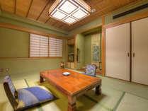 【*特別室】和室部分。寝具は和室にお布団をご用意します。