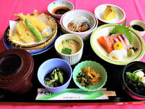 【ビジネス夕食】気軽な樺川定食をご用意します。