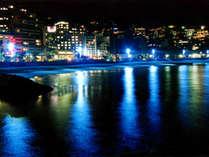 人気のサンビーチ!!ライトアップされた夜景をお楽しみ下さい♪
