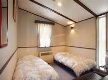 【ツインルーム】シンプルで落ち着いた雰囲気の客室