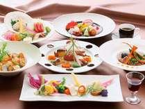【新ディナープラン!第1弾】~大雪の恵み☆彩りディナーコース~1泊2食付