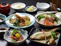 【夕食一例】野菜ソムリエの女将監修。栄養満点です