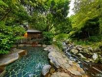 嬉野随一の自然に囲まれた大露天風呂「しいばの湯」