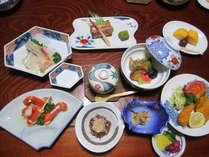 2食付【部屋食】カニ・お刺身★美味しい~海の幸!【9品コース】