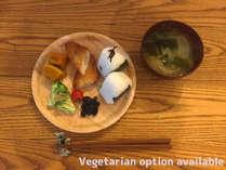 和朝食(+600円で前日21時までにご予約可能)※和食付きプランの方は、追加料金不要です。)