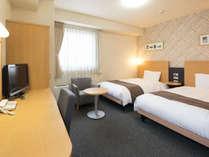 ◆2ベッドルーム◆ベッド幅123センチX2台◆ツインスタンダード◆