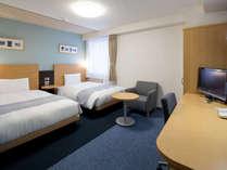 ◆ツインスタンダード◆23平米◆ベッド幅123cm×2台◆