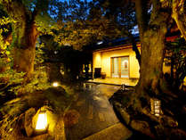 【外観】ようこそ胡蝶へ。何もしない贅沢と日本のこころに出逢う宿