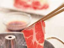 お肉も脂も美味♪沖縄が誇る幻の豚<アグー豚しゃぶしゃぶ>/2食付