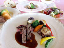 絶景レストランで楽しむ★<琉球プチフレンチコースディナー>/2食付