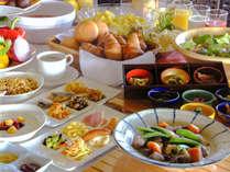 琉球食材をふんだんに使用した人気の朝食バイキング