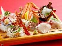 【地魚料理】大名刺身盛りと温泉満喫プラン☆