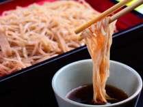 ■信州蕎麦 喉越しが良い当館自慢の信州蕎麦です。