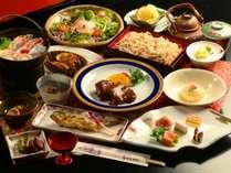 ■グレードアップ料理~『月歌御膳』~ 上質で贅沢なお料理をご用意するグレードアップのコースです。
