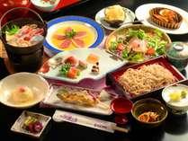 ■スタンダード料理~『うづら御膳』~ 旬の信州食材を使用し、季節に応じたお料理をご用意いたします。