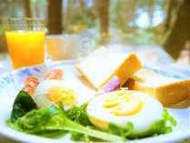 朝食付きプラン・ライト(軽食)一例