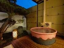 天然温泉、プライベート温泉がうれしい露天風室呂客室