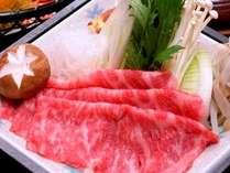 岡山和牛のすき焼き♪お客様に毎年大好評です。
