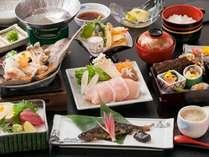岡山のブランド豚『ピーチポーク』や山女の甘露煮など♪地元の食材がたくさん!『かぐや姫会席』