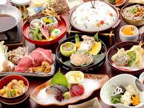 岡山和牛と松茸のすき焼き、鮑の陶板焼など 『グルメ会席』