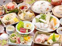 【夏のかぐや姫会席】お得でうれしい♪≪下津井のタコしゃぶ&森林鶏の陶板焼≫