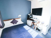 ◆シングルルーム◆全室シモンズベッドを完備!