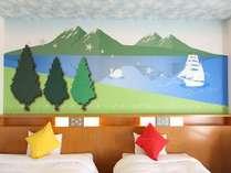*コンフォートルーム《レイク》  帆船に乗り込み冒険に出かけよう!,大阪府,ホテル京阪 ユニバーサル・シティ