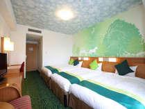 コンフォートフォレスト(27平米/3-4名1室)澄み切った緑の森でくつろぎのひとときを。,大阪府,ホテル京阪 ユニバーサル・シティ