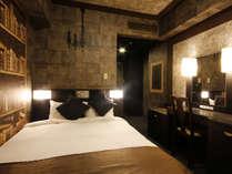 コンセプトダブル(18平米/2名1室)案内人の隠れ家をイメージしたお部屋。,大阪府,ホテル京阪 ユニバーサル・シティ