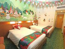 2018年限定★雪だるまとわいわいクリスマスルーム