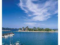 当館からの眺め「弁天島」