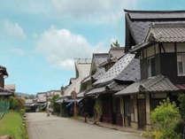 福住宿場町は、重要伝統的建造物群保存地区に指定されています。
