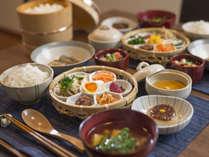 《会津産コシヒカリ》ひと手間かけた田舎の朝ごはんプラン ・伝統料理こづゆ付【当日予約】