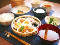 《会津産コシヒカリ》ひと手間かけた田舎の朝ごはんプラン ・平日限定