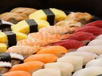 ブッフェレストラン ケッヘルではランチタイムもディナータイムもお寿司が食べ放題♪