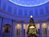 フォトスポット♪ロビーのクリスマスツリー