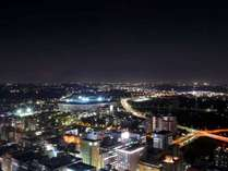 競技場方面の夜景