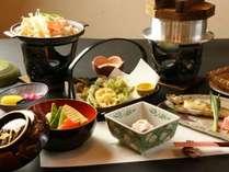 【スタンダード】手作り 田舎料理でおもてなし&源泉かけ流し100%♪尾瀬戸倉温泉を堪能♪1泊2食付き