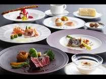 2020年夏洋食グルメプランの料理一例。