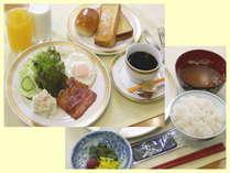ご飯、パン、お飲み物のお替わり自由♪ ☆朝食無料サービス☆ (6:30~9:30)