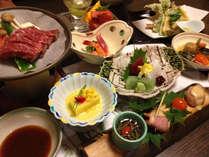 ■ご夕食の一例 ★季節によって食材の内容が変わります
