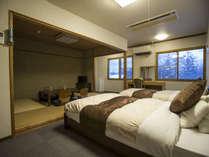 和洋室4人部屋
