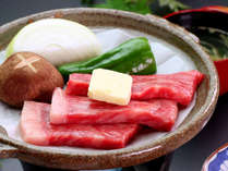 夕食一例◆新潟のブランド和牛「越後牛」はリピーターの方にも大人気!