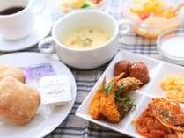 朝食バイキング(洋食盛付イメージ)