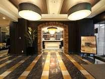 ■ロビーエントランス【2017年3月リニューアル】鳥取に新都市型ホテルが誕生!Wi-Fi全館利用可能!