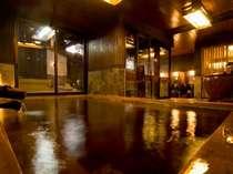 ほっこり天然温泉大浴場 ~お肌スベスベ 癒しのお湯~