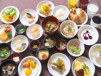 【カード決済限定】出来立てオムレツ・ます寿司 おススメ朝食付きプラン♪