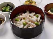 ■ご当地逸品料理■「白エビご飯」(イメージ)