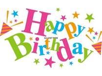 ♪お誕生日おめでとうございます♪一年に一度のスペシャルプランです☆